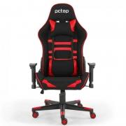 Cadeira Gamer PCTop Power X-2555 Vermelha