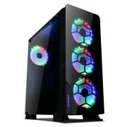 Computador Gamer - Amd Ryzen 5 3600, Memória 16Gb 2666mhz, SSD 240GB + HD 1TB, Geforce GTX1660 de 6GB, Fonte 600W 80 plus
