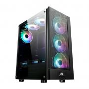 Computador Gamer - Amd Ryzen 5 3600, Memória 8Gb , HD 1TB, RX560 de 4GB, Fonte 500W 80 plus