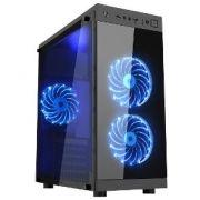 Computador Gamer - Intel Core i5-7400 7° Geração, 8GB DDR4, Placa Mae H110M, HD de 1TB, Placa de Vídeo 4GB RX550, Fonte 500W Real *