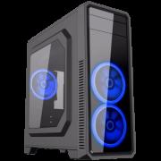 Computador Gamer - Intel Core i7-7700 7° Geração, 8GB DDR4, Placa Mae H110M, HD de 1TB, Placa de Vídeo GTX1050TI 4GB, Fonte 500W Real *