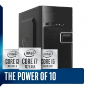 Computador Home Office Intel Core i5 10ª Geração 10400, SSD 120GB, 8GB DDR4, Gabinete ATX