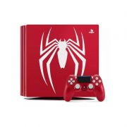 Console Playstation 4 PRO Edição Especial Spider-Man - Resolução 4K, HD 1TB, Controle Dualshock 4