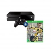 Console Xbox One + Jogo FIFA 17 - HD 500GB, Controle Wireless, Headset com fio, Cabo HDMI, Leitor Blu-ray