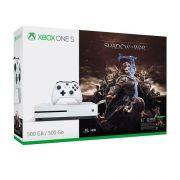 Console Xbox One S 500GB + Shadow Of War - 4k, Controle Wireless