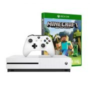 Console Xbox One S 500GB + Minecraft - 4k, Controle Wireless, Cabo HDMI