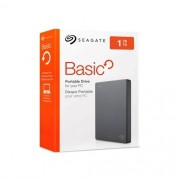 HD Externo 1TB Seagate  Slim Basic - USB 3.0, 2.5