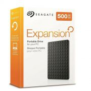 HD Externo 500GB Seagate Expansion Slim - USB 3.0, 2.5