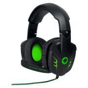 Headset Gamer Gamemax HG9008 - 5.1 - Preto com Verde