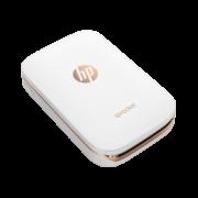 Impressora Fotográfica HP Sprocket 100 para Smartphone - Impressões instantâneas, Compatível com Android e iOS, Bluetooth, Portátil