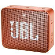JBL GO 2 - Bluetooth, À prova d'água, Microfone embutido - Laranja