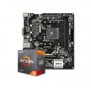 Kit Upgrade PC AMD Ryzen 5 3600 + Placa Mãe ASRock A320