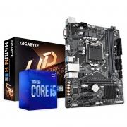 Kit Upgrade PC Gamer Intel Core i5-10400F + Gigabyte H410