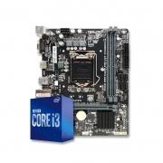 Kit Upgrade PC Intel Core i3-10100F 10ª Ger. + Placa mãe PCWARE H410