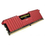 Memória Corsair Vengeance LPX - 8GB, 2400Mhz, DDR4 – Vermelha