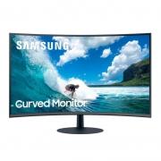 "Monitor Gamer Curvo 31,5"" Samsung  - Tela curva Full HD, HDMI/DisplayPort, Inclinação Ajustável - LC32T550FDLXZD"