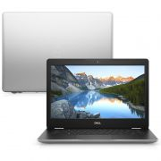 Notebook Dell Inspiron 14 3481 Intel Core i3 7ªG, 4GB, SSD 120GB + HD 1TB, Tela 14