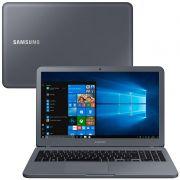 """Notebook Samsung Essentials E30 - Intel Core i3, 4GB, SSD 120GB + HD 1TB, Tela 15.6"""" Full HD - Titanium, NP350XAA-KF3"""