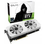 Placa de vídeo Galax NVIDIA GeForce RTX 2070 - 8GB WHITE 1CLICK OC G6 256B