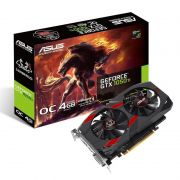 Placa de Vídeo GeForce GTX 1050 Ti OC 4GB Asus Cerberus - DDR5, 128 bits
