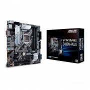 Placa Mãe Asus Prime Z490M-Plus DDR4, socket LGA 1200, chipset Z490, mATX