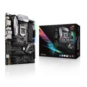 Placa Mãe Asus Rog Strix H270F Gaming Intel LGA-1151 - ATX com Aura Sync RGB LED, Intel Gigabit LAN, DDR4 2400MHz, Duas M.2, SATA 6Gb/s, USB 3.1 Tipo-C