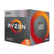Processador AMD Ryzen 5 3400G 3.70GHz (4.20GHz Turbo), 4-Core 8-Thread, Cache 4MB, AM4 - YD3400C5FHBOX