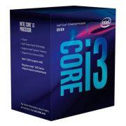 Processador Intel Core i3 8100 - 8ª Geração, Coffe Lake, DDR4, Cache 6MB