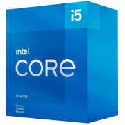Processador Intel Core i5-11400F 11ª Ger 2.6GHz (4.4GHz Turbo), 6-Core 12-Thread, Cache 12MB, LGA 1200, sem video - BX8070811400F