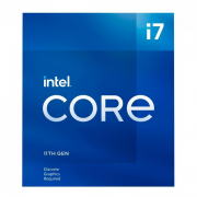 Processador Intel Core i7-11700 11ª Ger 2.5GHz (4.9GHz Turbo), 8-Core 16-Thread, Cache 16MB, LGA 1200 - BX8070811700