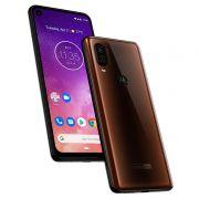 Smartphone Motorola One Vision 128GB Bronze - Dual Chip, Câmera dupla 48+5MP e Frontal 25MP, Filmagem 4K, Tela 6.3