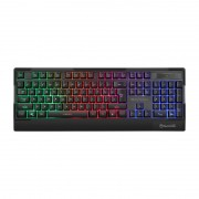 Teclado Gamer Marvo Scorpion K606 RGB Rainbow, membrana
