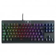 Teclado Mecânico Gamer Redragon Dark Avenger K568 RGB, Switch Blue, ABNT2 - K568RGB