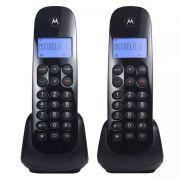 Telefone Sem Fio Motorola MOTO 700 + 01 Ramal - Identificador de chamadas, Display Luminoso, DECT 6.0, Agenda