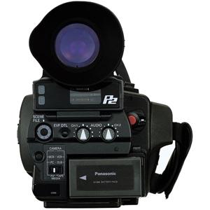 Filmadora Panasonic DVCPRO HD AG-HVX200P - Sensor 3CCD, Vídeo em HD, Cartão P2 e Mini DV, Tela de 3.5´ *