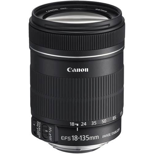 Lente Objetiva Canon EF-S 18-135mm - F/3.5-5.6 IS *