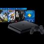 Console Playstation 4 Slim Edição Especial + 3 jogos - HD 500GB, Controle Dualshock 4, chip 8 núcleos, 8GB + Jogos Horizon: Zero Dawn, Ratchet & Clank e The Last of Us  - Beta Informática