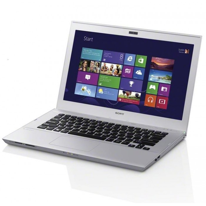 "Ultrabook Sony Vaio SVT14-112CXS Intel Core i3 (3ª Geração), Memória 4GB, HD 500GB + SSD 32GB, USB 3.0, Tela LED 14"" e Windows 8"