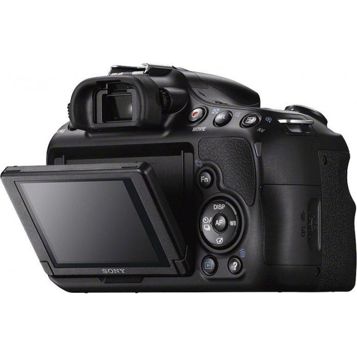 Câmera Digital Sony Alpha SLT-A58 SLR + Lente 18-55mm f/3.5-5.6 SAM II (20 MegaPixels, ISO 16000, AVCHD)