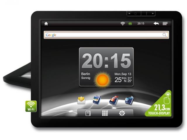 Tablet Genesis GT-8220S (Tela 8´, Android 4.0, 8GB, 1.2Ghz, 1GB RAM, Wi-Fi, USB, 2 Câmeras, Compatível com Modem 3G)