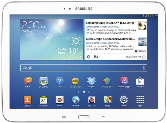 """Tablet Samsung Galaxy Tab 3 com Tela 10.1"""" GT-P5200 3G com 16GB, Processador Dual Core de 1.6GHz, Câmera 3MP, Wi-Fi, AGPS e Android 4.2"""
