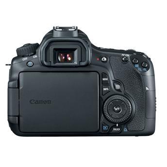Câmera Digital Canon EOS 60D + Lente 18-55mm + SD 32GB + Bolsa --- CMOS 18.0 MegaPixels / LCD 3.0 (ângulo-variável) / Digic4 / Vídeo FullHD / Bateria de Lítio