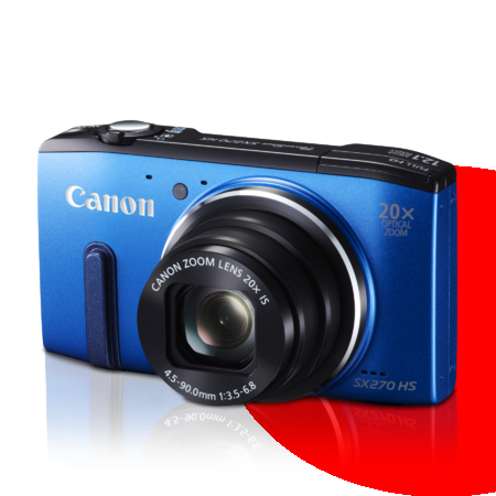 Camera Canon PowerShot SX270 HS (12.1MP, Full HD, Zoom 20x)