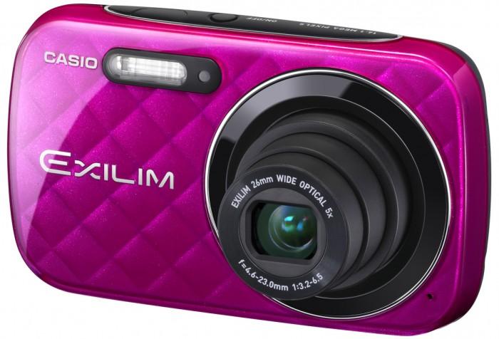 Câmera Digital Casio Exilim EX-N10 - 16,1 Mp / Zoom Óptico 5x / HD / Tela 2,7´