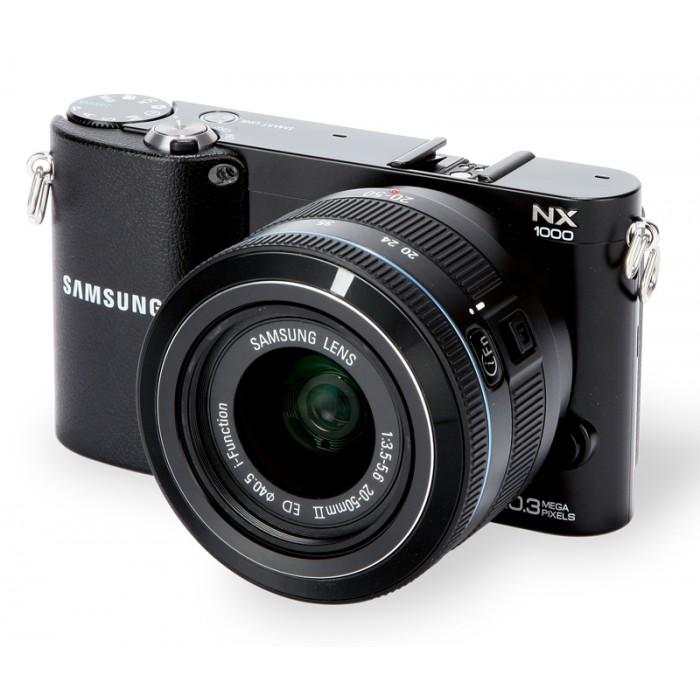 Câmera Digital Samsung NX1000 (20.3MP, LCD 3´, Conexão Wi-Fi, Saída HDMI, Vídeos Full HD e Fotos em 3D)