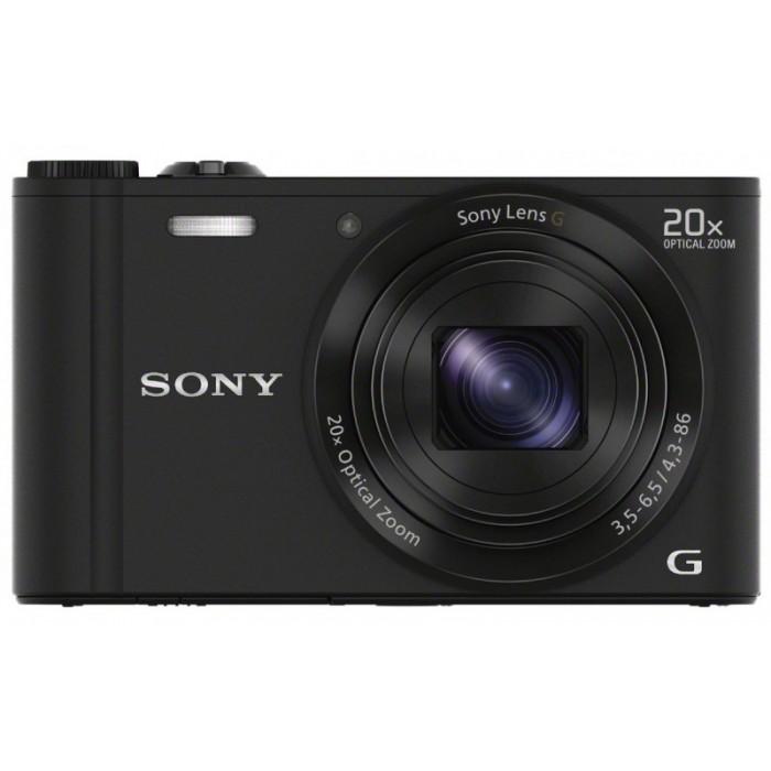 Câmera Digital Sony Cyber-shot DSC-WX300 (18.0 Megapixels, Zoom Óptico 20x, Wi-Fi)