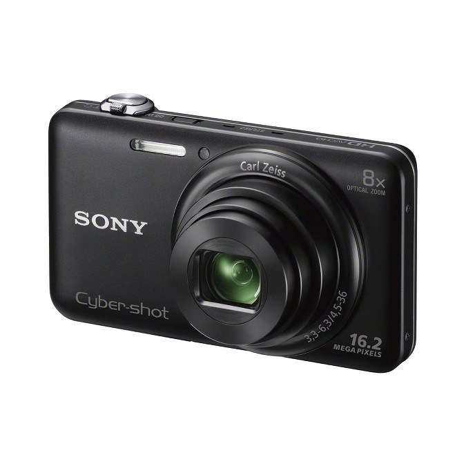 Câmera Digital Sony Cyber-Shot DSC-WX80 Branca, 16.2MP, LCD 2,7´, Zoom Óptico 8x, Filma em HD, Estabilizador de Imagem, 3D, Wi-Fi