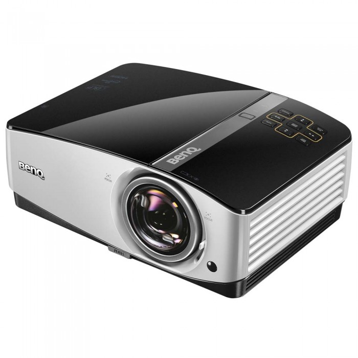 Projetor BenQ MX822ST com 3500 ANSI Lumens, HDMI, Mini USB, RJ45 e Controle Remoto
