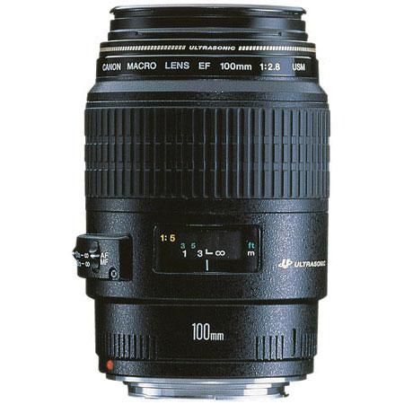 Lente Canon EF 100mm  - F/2.8 USM Macro *