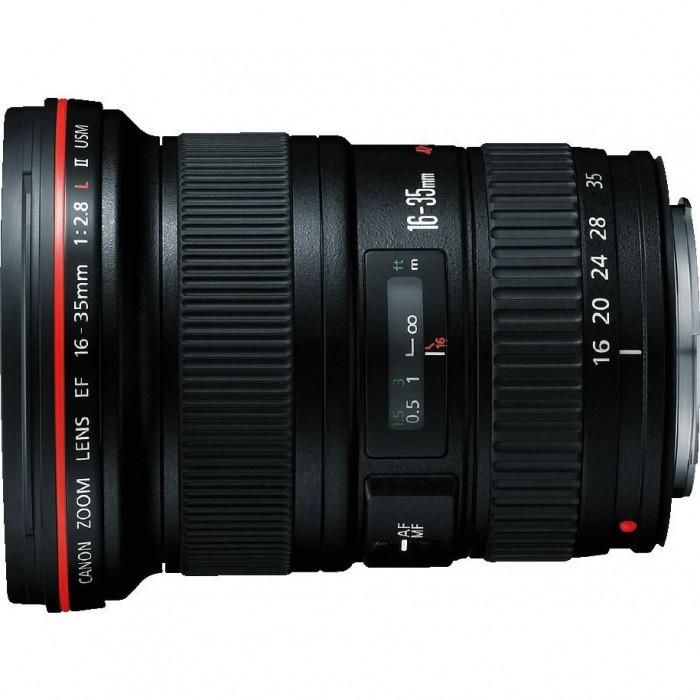 Lente Canon Autofoco EF 16-35mm -  F/2.8L II USM *